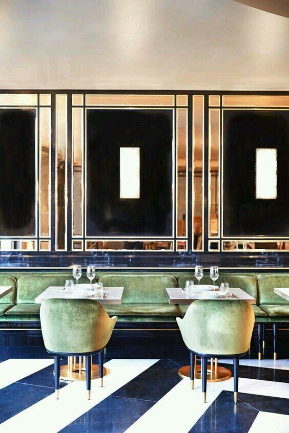 Amazing Restaurant Interior Design Ideas, Stylish Cafe Interior Design  Projects, Bar Interiors With Chic Seating, Barstools And Lighting. Dazzling  U2026