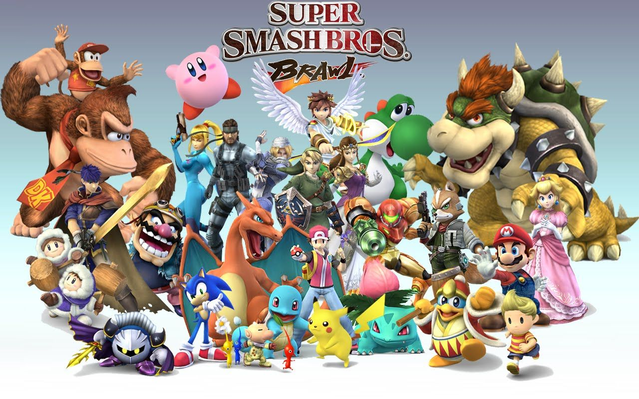 Super Smash Bros Trailer De Anuncio 3DS SuperSmashBros Nintendo3DS Todosobrevideojuegos