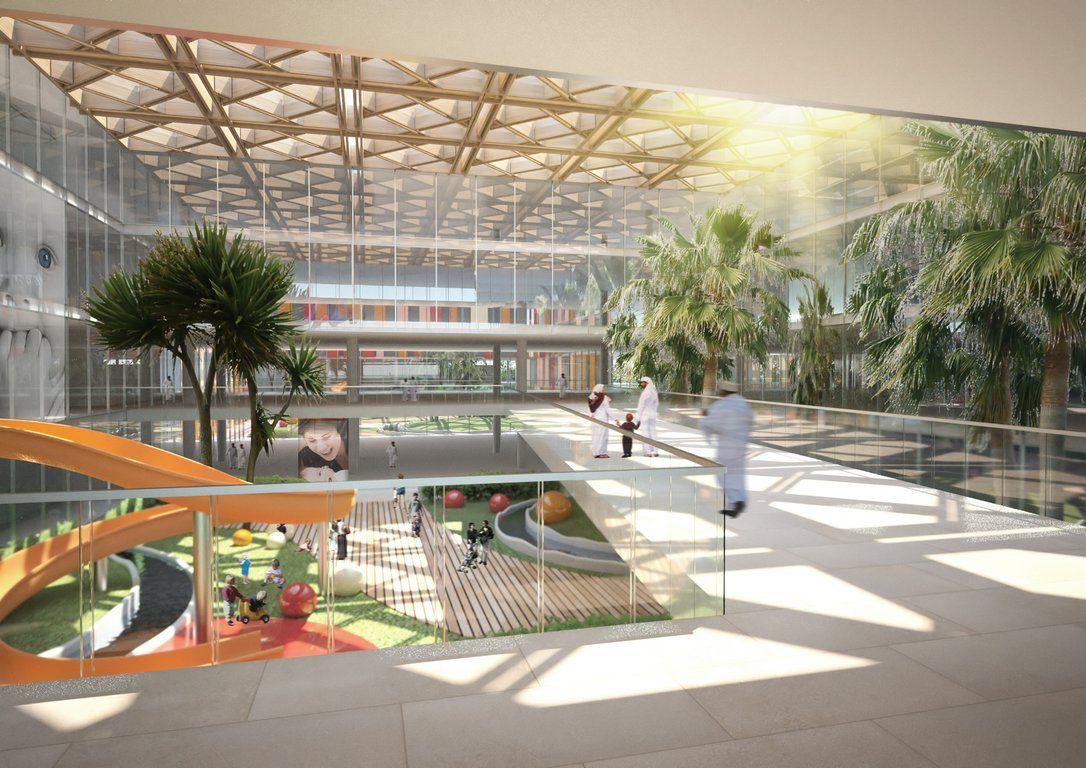 hospital atrium - Google Search | atrium design | Pinterest ...
