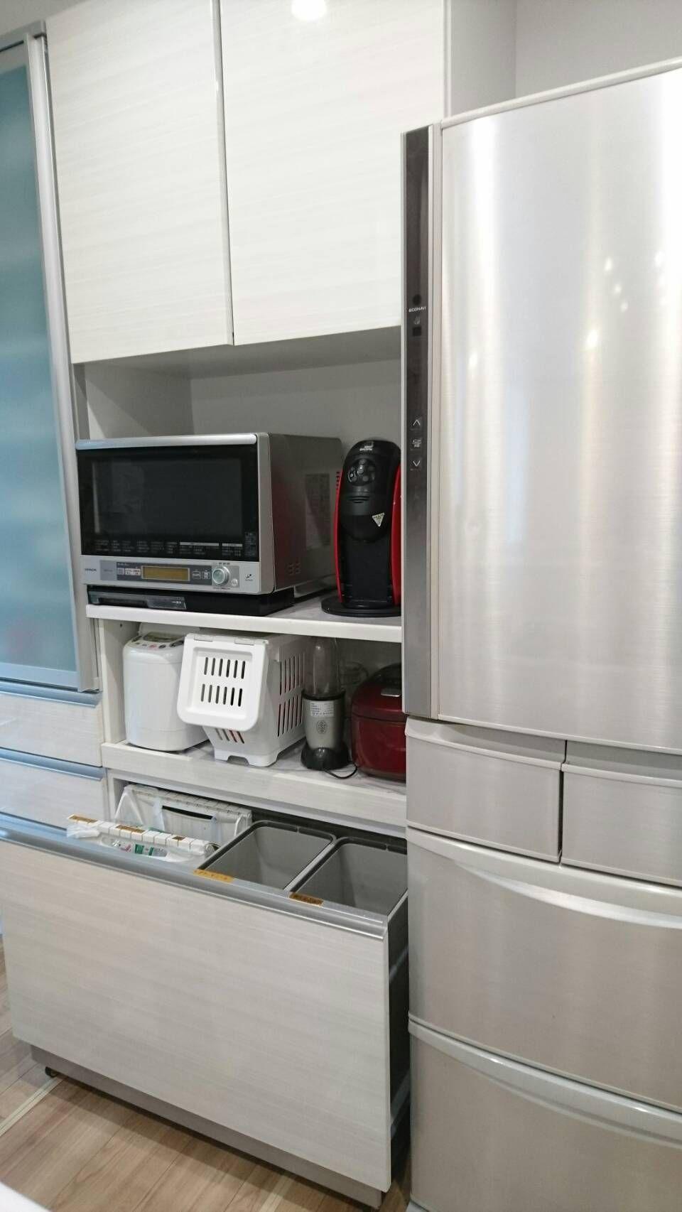 Web内覧会キッチンタカラオフェリアに決めた理由 琉璃色家族 キッチン ゴミ箱 キッチン タカラスタンダード