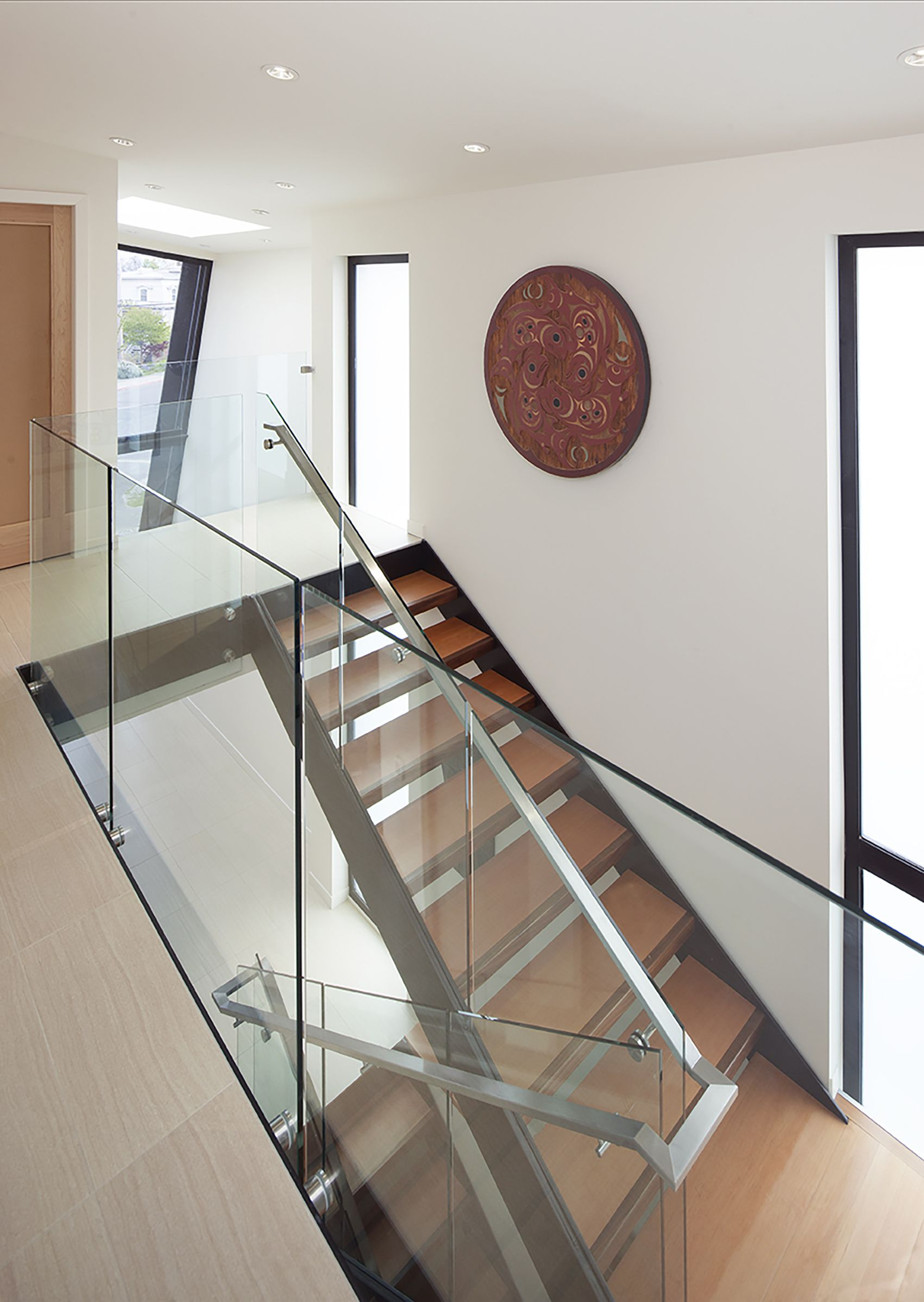 Best Livingston Residence Steel Stair And Solid Douglas Fir 640 x 480