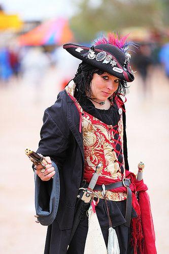 Pirate Captain Jett Kelly 2010 AZ Ren Fest!