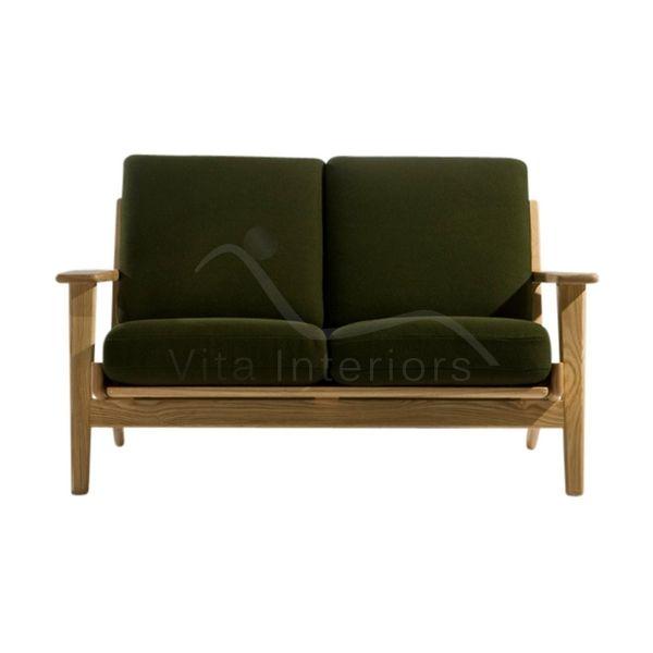 Vita InteriorsSofas Hans J Wegner Style GE 290 2 Seat Sofa