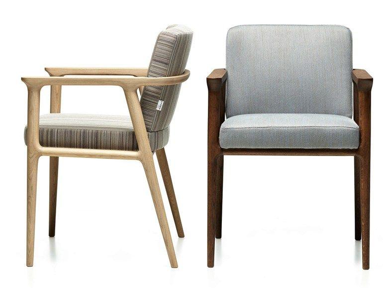 gepolsterter stuhl mit armlehnen zio dining chair by moooi© design, Attraktive mobel