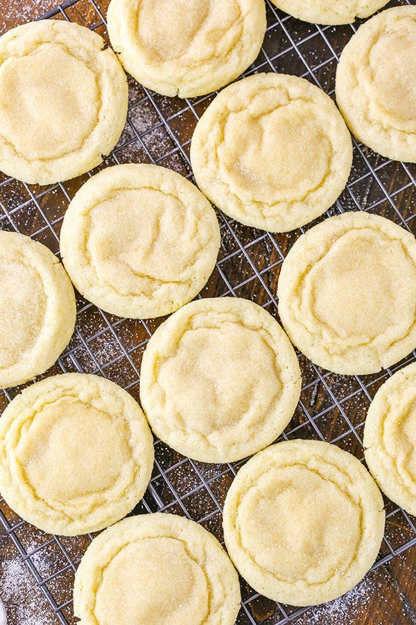 The BEST Soft and Chewy Sugar Cookie Recipe