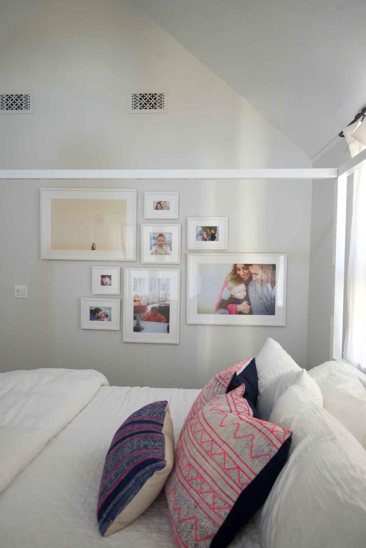 Gallery wall in Irvine Slim Via