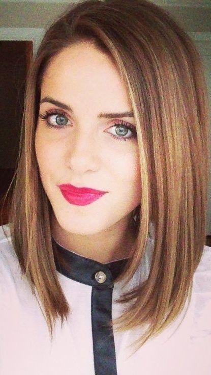 43 Gerade mittellange Frisuren für Frauen die Sie gerne ausprobieren werden#fashions… | Straight ...