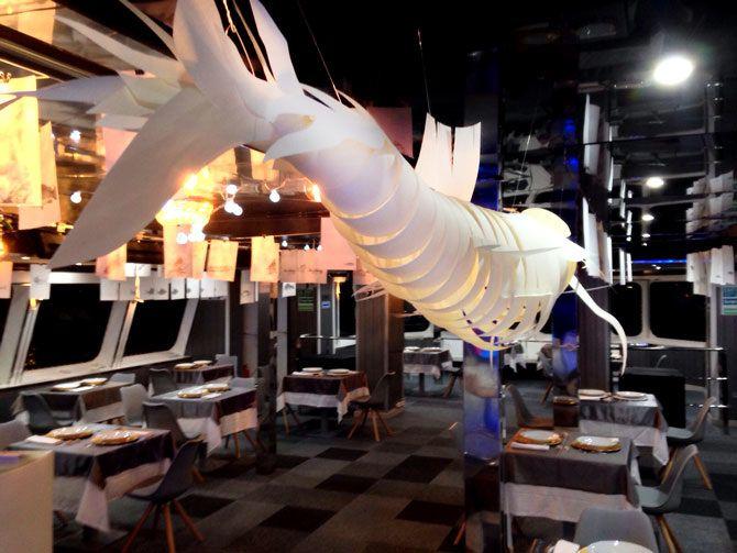 Peces pesadilla hemos trabajado en la reforma del restaurante ...