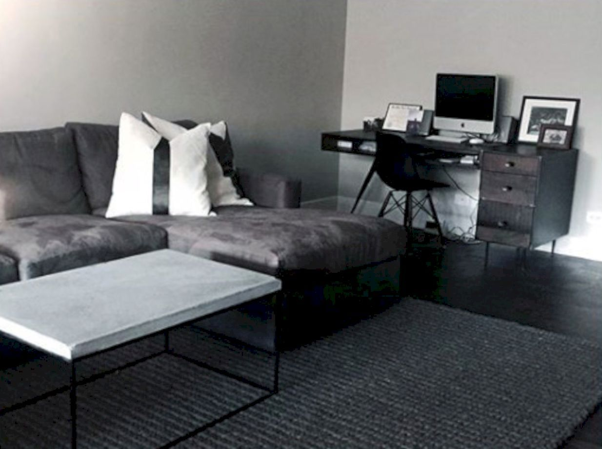 Awesome 52 minimalist interior design ideas for mens first apartment