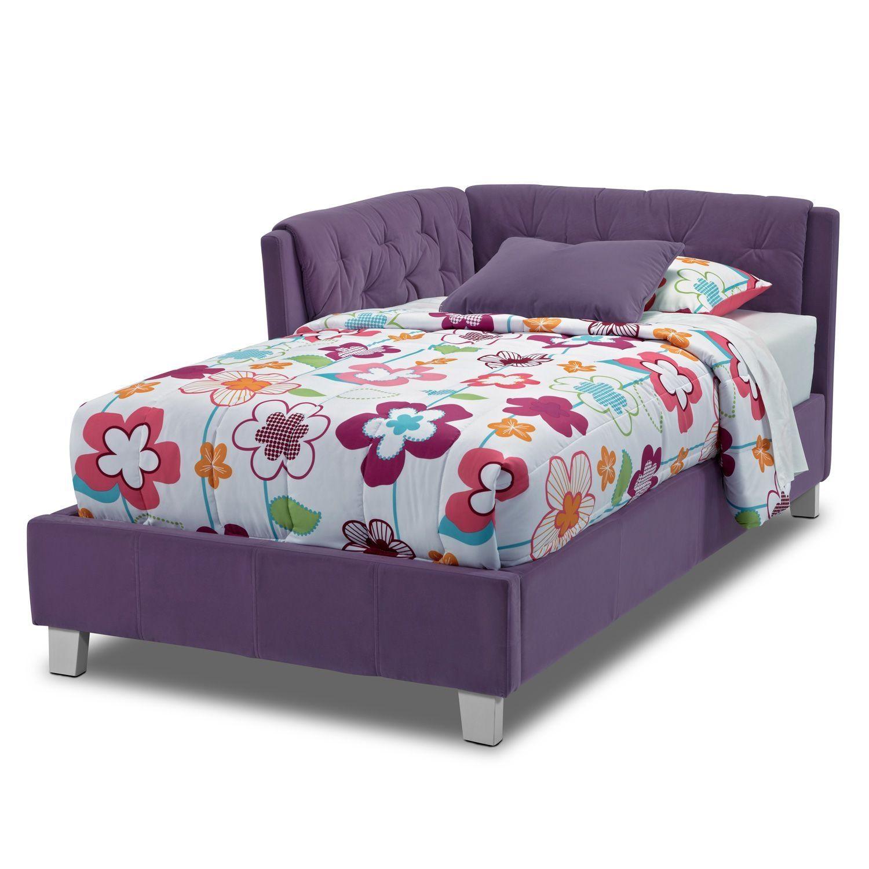 Jordan III Twin Corner Bed