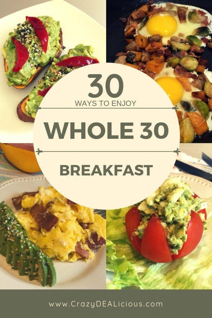 30 ways to enjoy Whole30 Breakfast