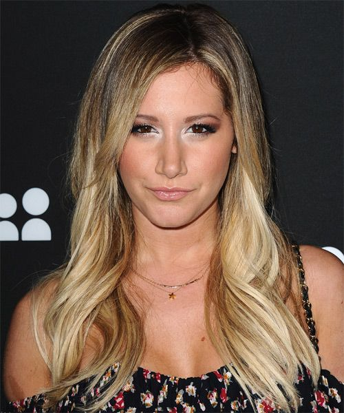 Ashley tisdale long blonde hair