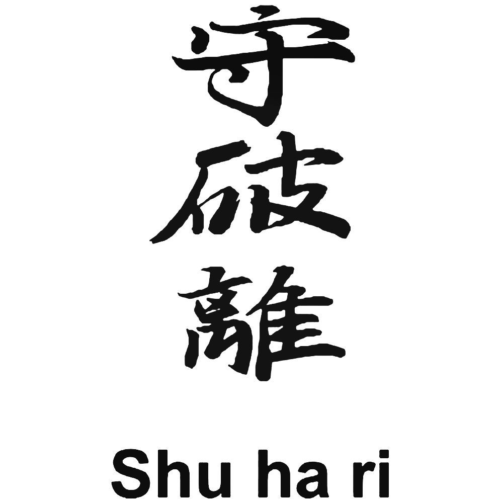 Japanese Kanji S Kanji Symbol For Shu Ha Ri Decal Aftermarket