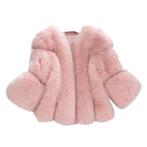 423b4ebaff8f54 Per Manteau Fourrure Femme Hiver Veste Fourrure Femme Manche Longue Blouson Femme  Fausse Fourrure Fur Coat
