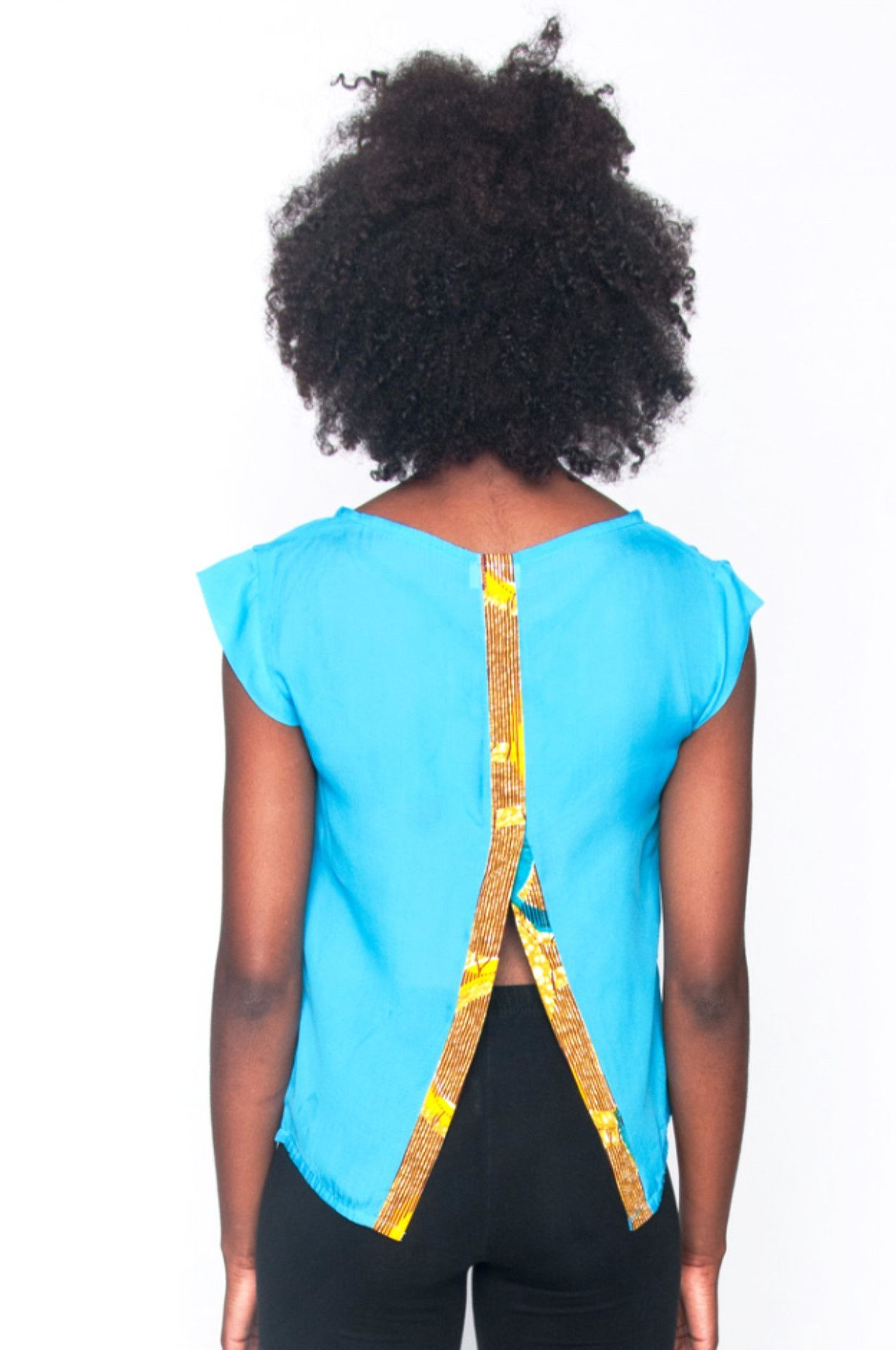 Africhiffon Top 2.0 (Open Back)
