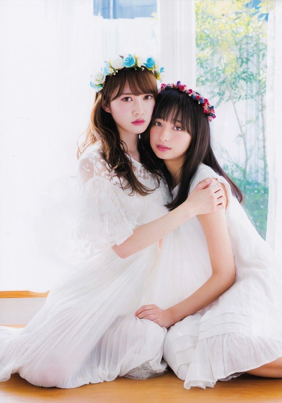 AKB48岡田奈々ちゃん・村山彩希ちゃんの『BOMB! 2019年11月号』水着