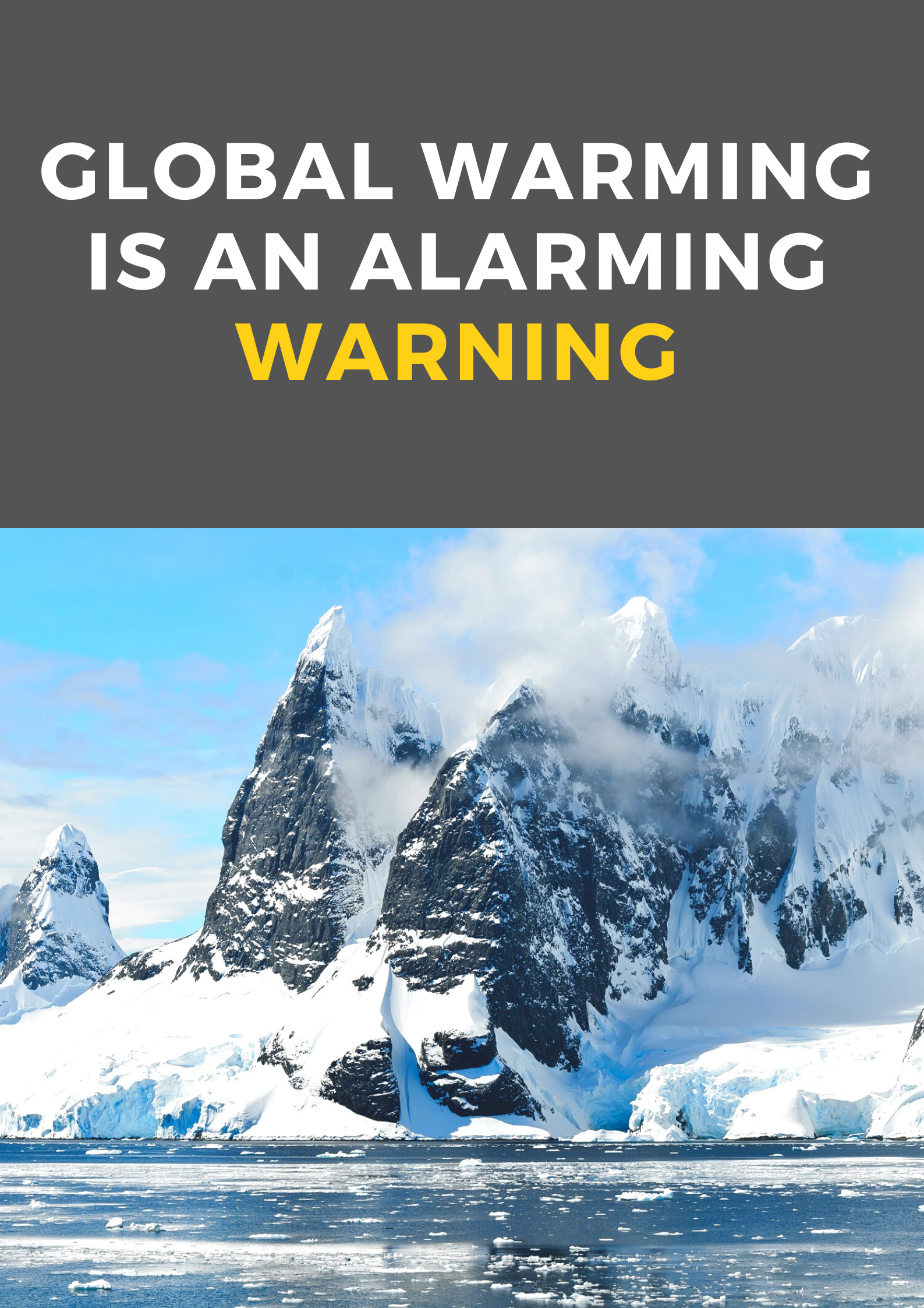 Global Warming Poster In