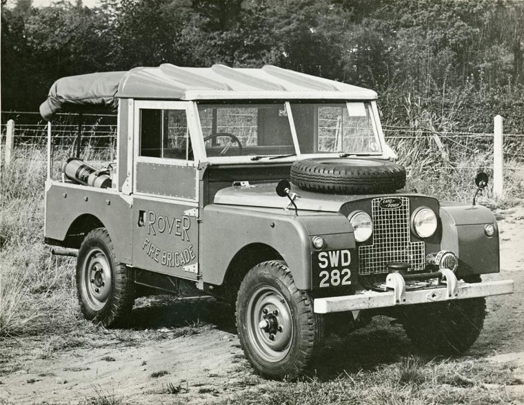 Land rover series 1 one 86