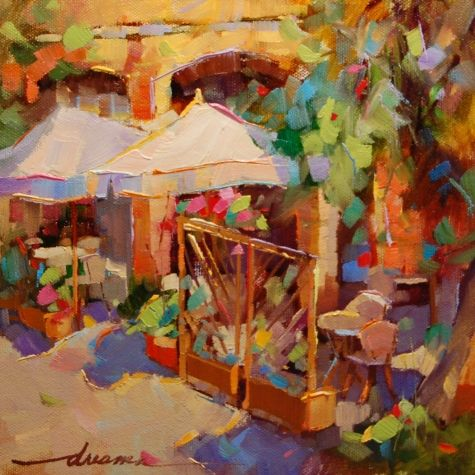 High on Italian Sunshine, painting by artist Dreama Tolle Perry