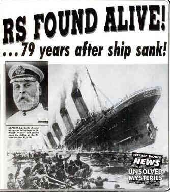 two victims of the titanic found alive because time tunnel