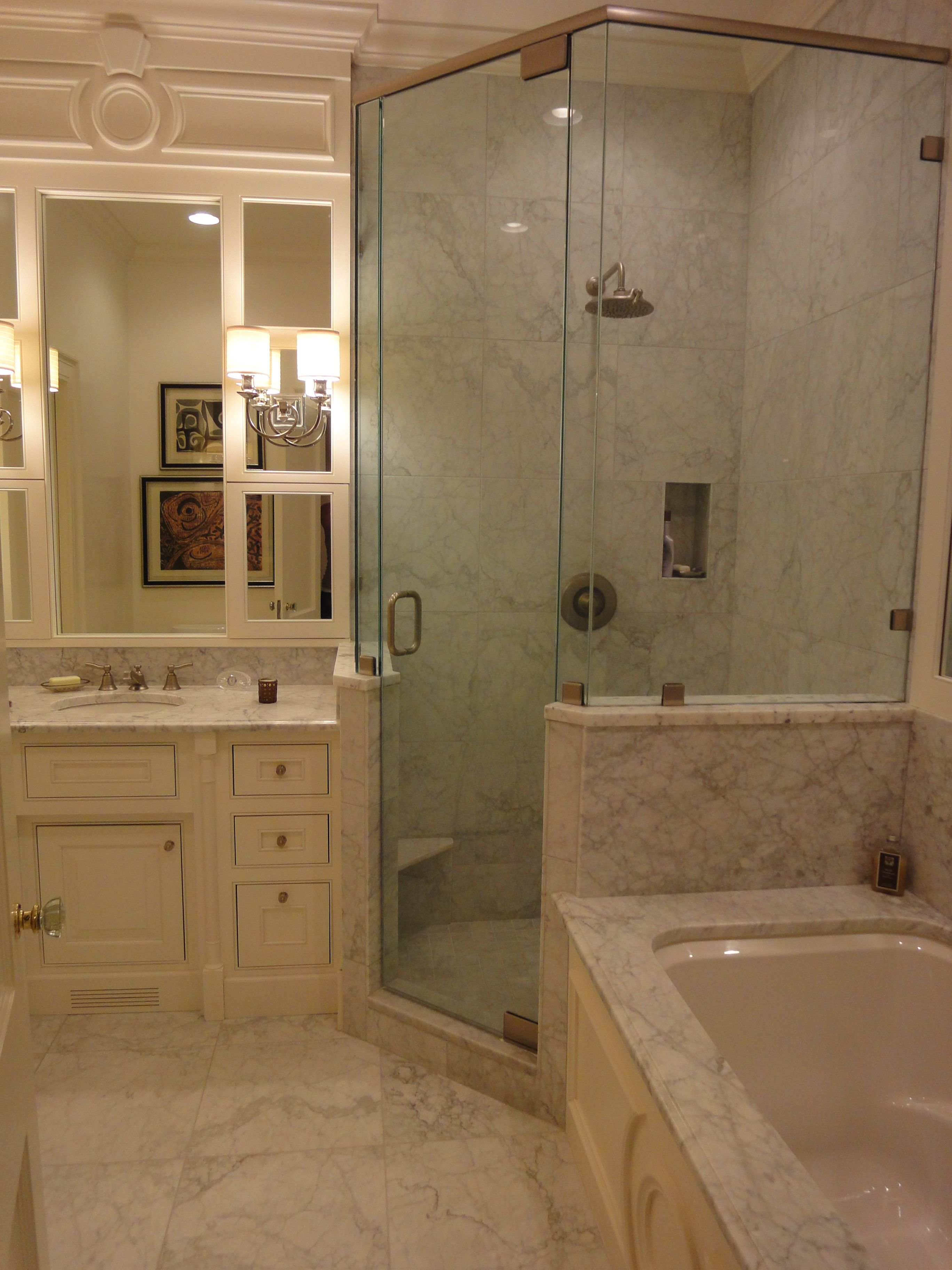 My Client's Little Luxury Bathroom  Bathrooms  Pinterest Amusing Small Luxury Bathroom Inspiration Design