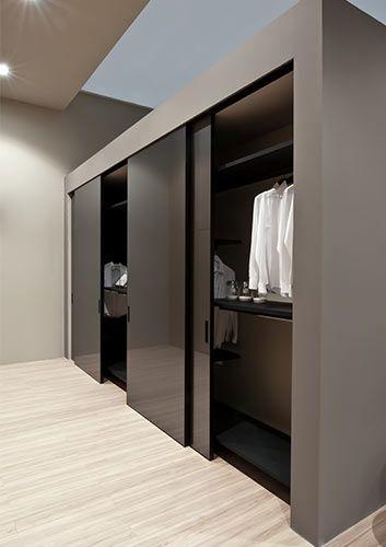 Porte scorrevoli albed albed en 2019 meuble penderie armoire coulissante et dressing - Paroi coulissante chambre ...