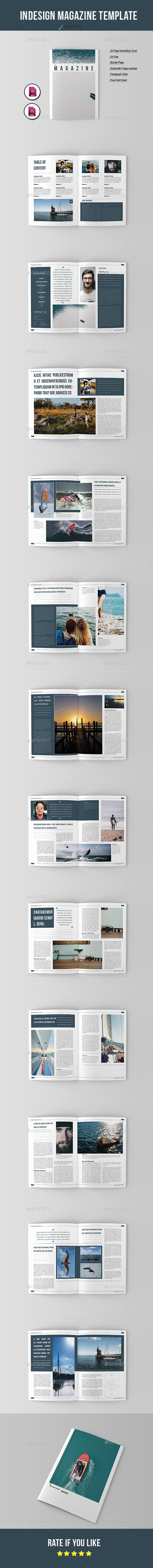 Magazine Template Pinterest Brochure Template Creative Design - Employee benefits booklet template