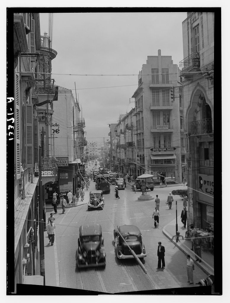 Bab Idriss [1945]  old Beirut