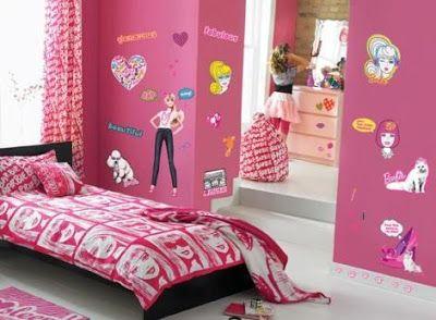 Diseño de Habitaciones de Barbie para Niñas   recamara niñas ...