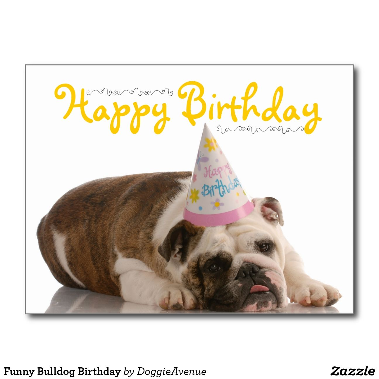 Happy Birthday Meme Bulldog (17) Dog cards, Funny