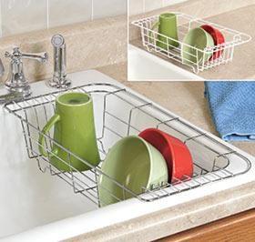 Sink Dish Drainer @ Harriet Carter