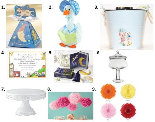 Nursery Rhyme Baby Shower Ideas