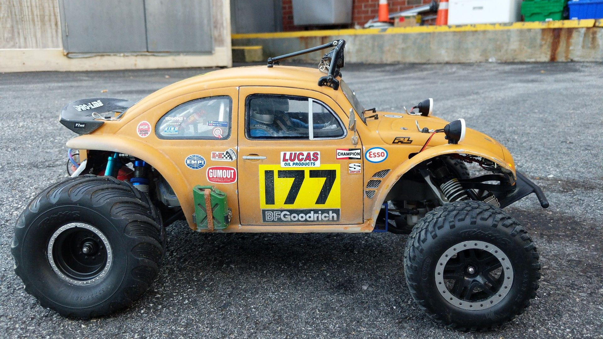 Proline VW Bug body for Traxxas slash rc car | Bug