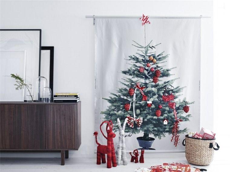 Idées déco Noël design pour table, maison et sapin moderne - idee deco maison moderne