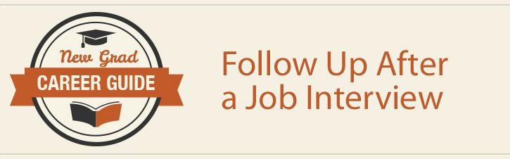 How to Follow Up After a Job Interview Job Search Pinterest - follow up after interview