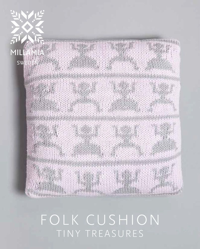Folk Cushion in MillaMia Naturally Soft Aran - Downloadable PDF ...