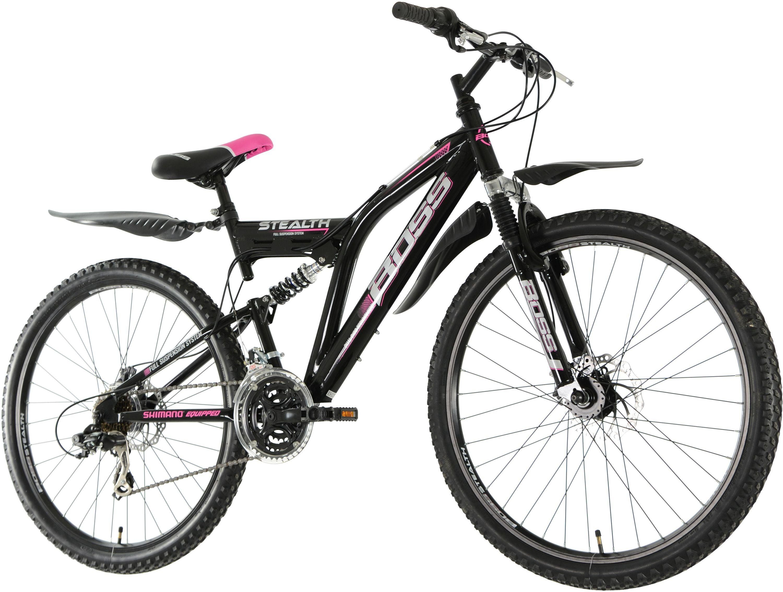 Buy Boss Stealth 26 Inch Wheel Size Womens Mountain Bike Mens