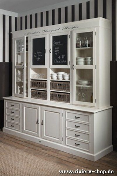 Gut Marthau0027s Vineyard Recipes Cabinet   Riviera Maison Shop Möbel