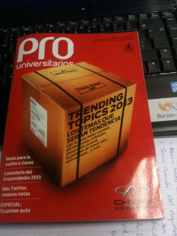 en la oficina (edición #27 - Marzo 2013)