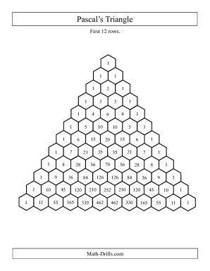 Pascal's triangle - Mathlete's Corner