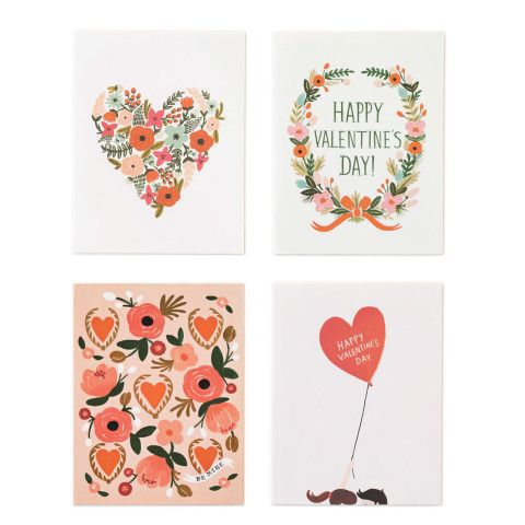 Pretty Valentine's Day Cards from @Anna Totten Totten Bond