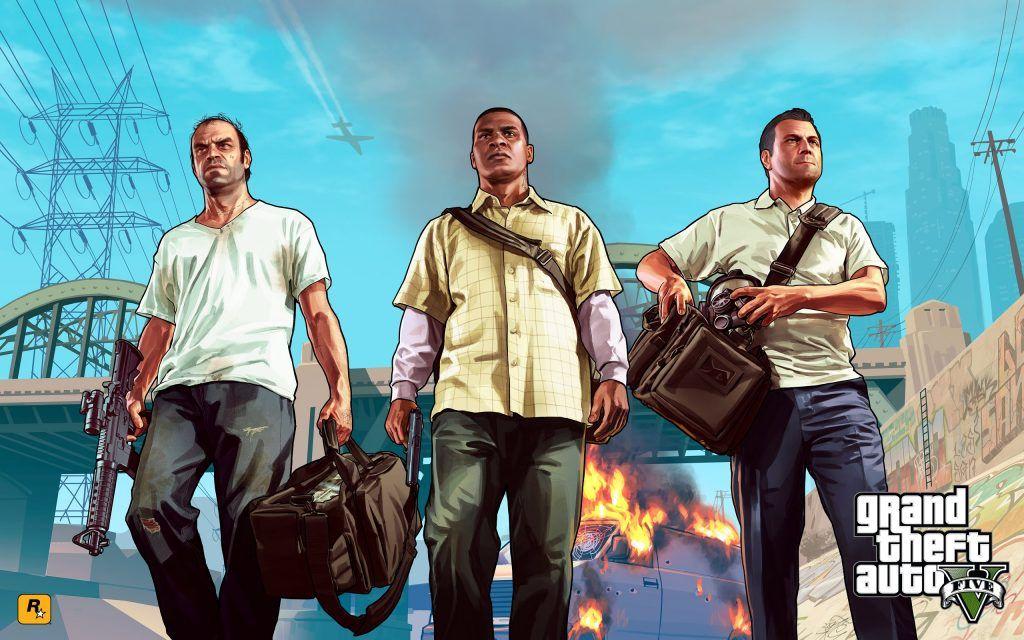 GTA 5 PC Game Free Download Full Version 게임 및 간지