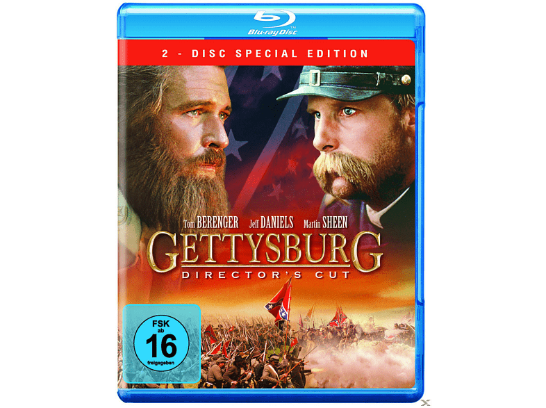 Gettysburg: Directors Cut (2 Discs) [blu-ray]