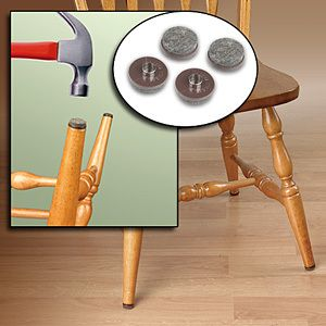 Clear floor protectors set of 8 stools legs and household solutioingenieria Image collections