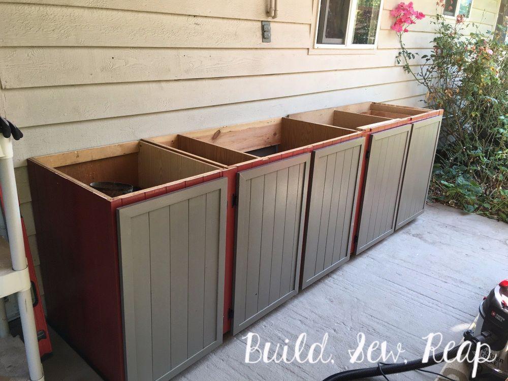 Patio Storage Cabinet Diy Patio Storage Outdoor Storage Cabinet