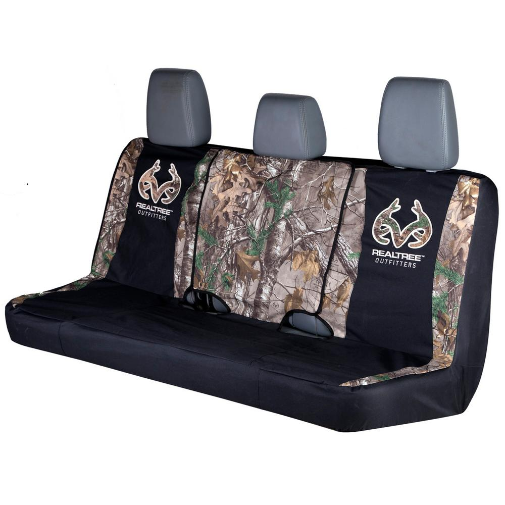 Realtree Camo Seat Cover Full Bench Xtra
