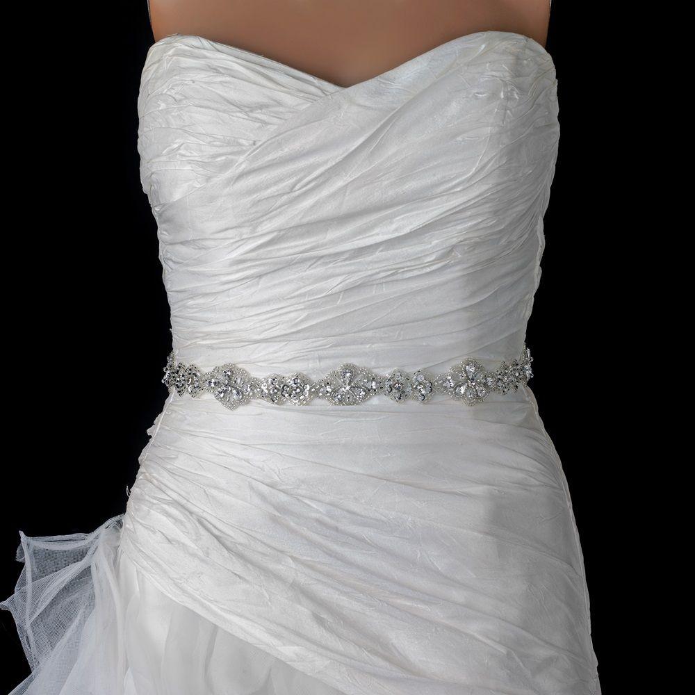 beaded wedding dress belt applique beaded