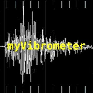 """myVibrometer"" is a tool for measuring accelerations/vibration in real time."