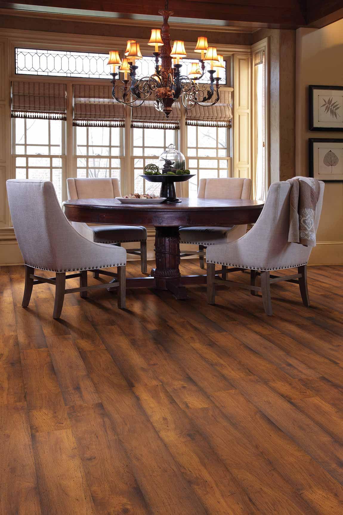 Rustic Farmhouse Dining Room Flooring Designs Flooring America