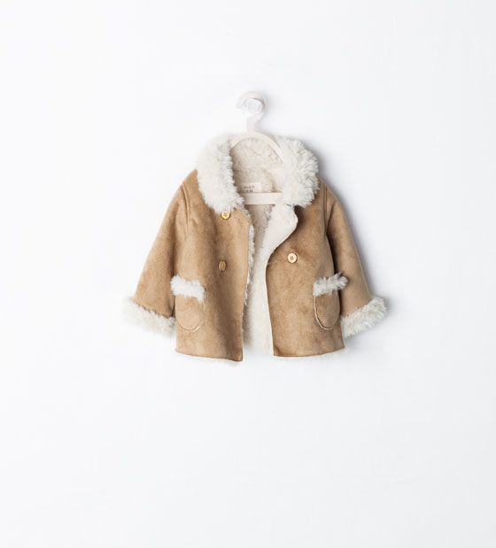 Image 1 of DOUBLE BREASTED THREE QUARTER LENGTH COAT from Zara